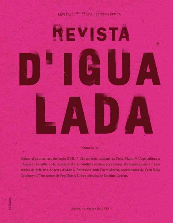Portada Revista d'Igualada 44