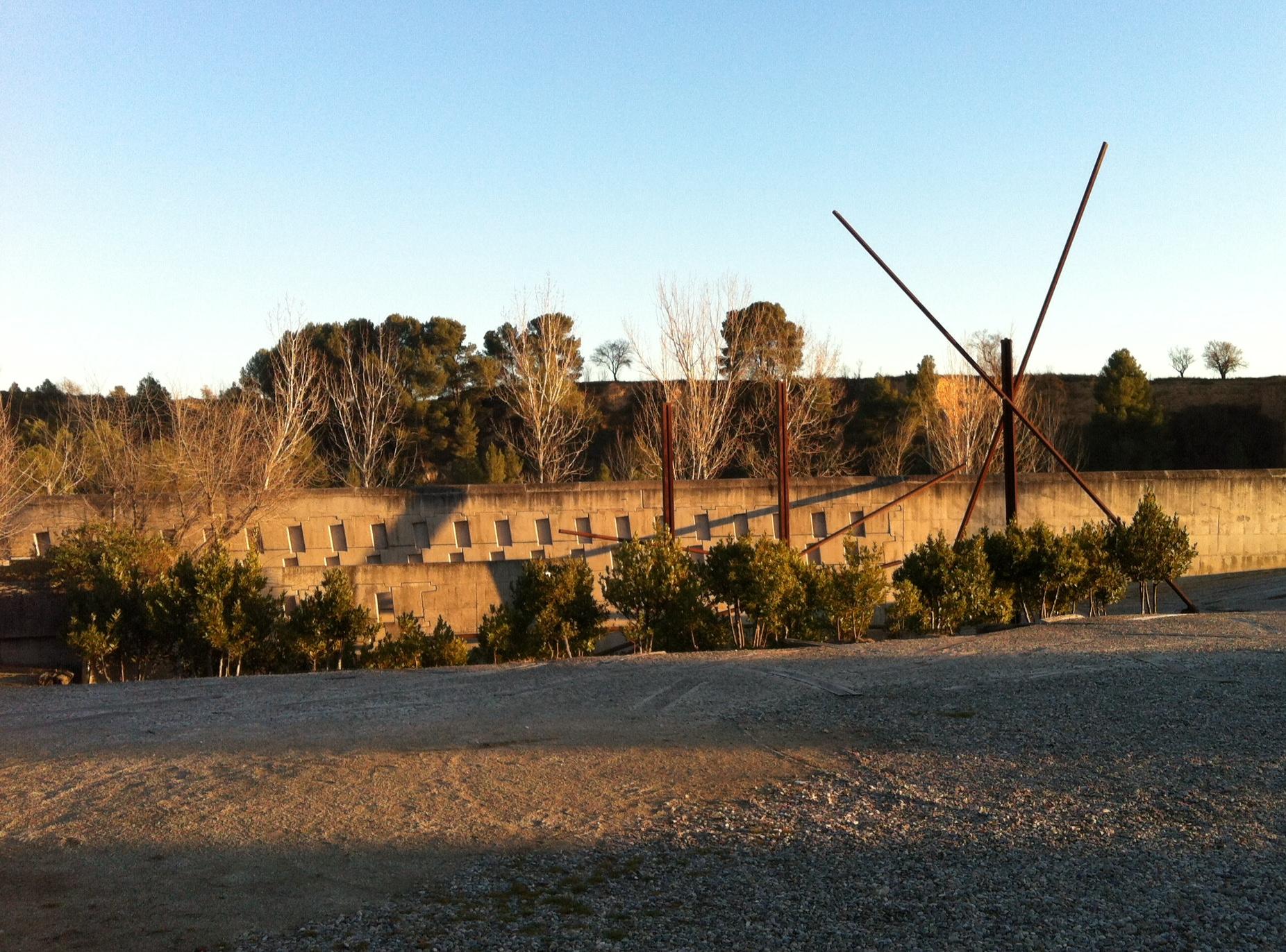 Cementiri Nou Igualada Enric Miralles